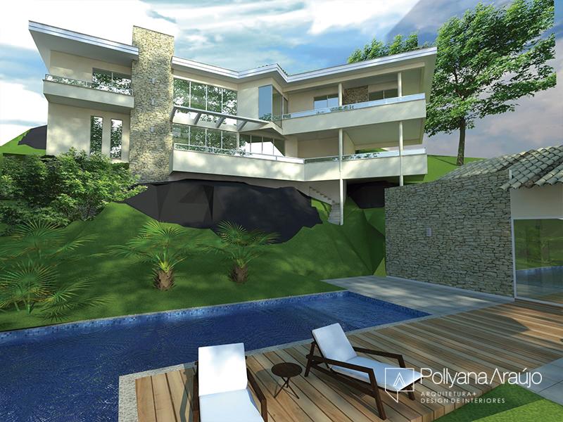 Projeto Condomínio  Pedra Bonita