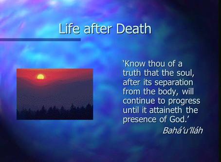 12. Death; a Messenger of Joy.