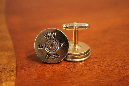 12 gauge cufflinks