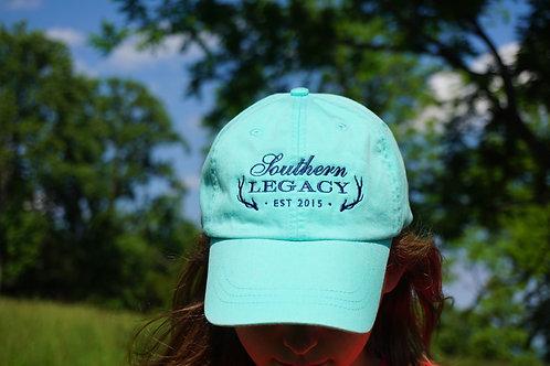 Southern Legacy Logo Hat Aqua