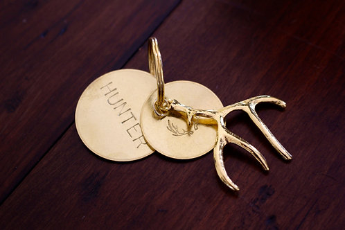 Hunter Antler Key Chain