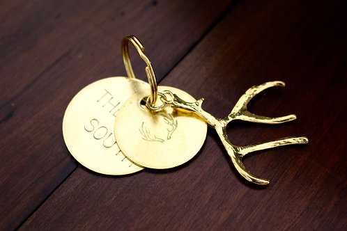 The South Antler Key Chain