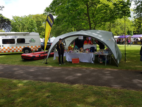 South Worcester Lifesaving Interventions at Pershore Carnival