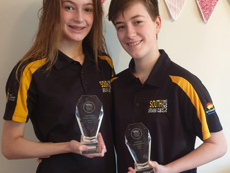 South Worcester Lifesaving Club members recognised at national SLSGB Heroes of the Surf Awards 2019