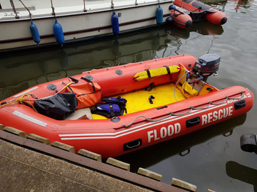 South Worcester Lifeguards Patrol & Safety Cover at Pershore River Festival 2019