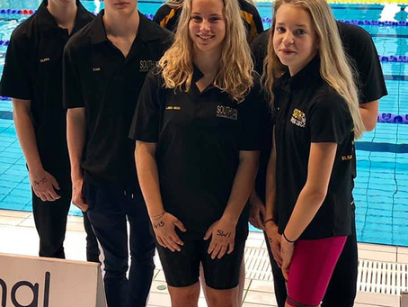Team Delight at SLSGB National Youth Pool Championships 2019