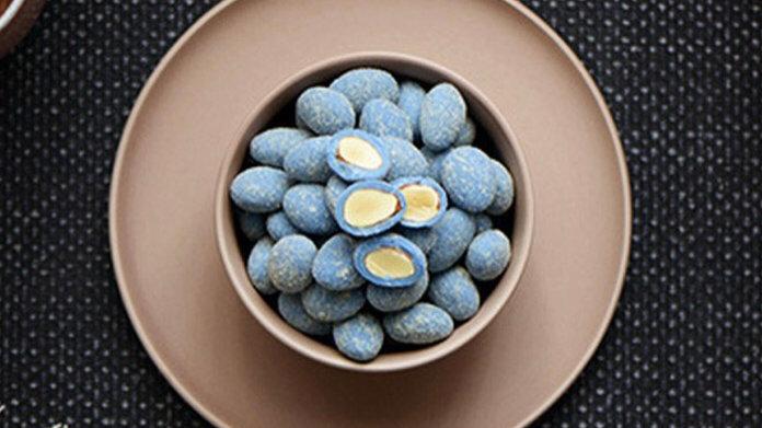 Baby Blue Almond Ball