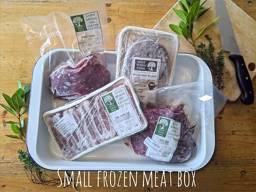 Small frozen meat box