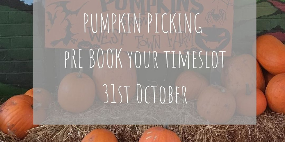 SOLD OUT! Pumpkin Picking On The Farm - 31st October