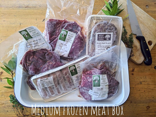 Medium frozen meat box