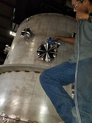 Helium Leak testing