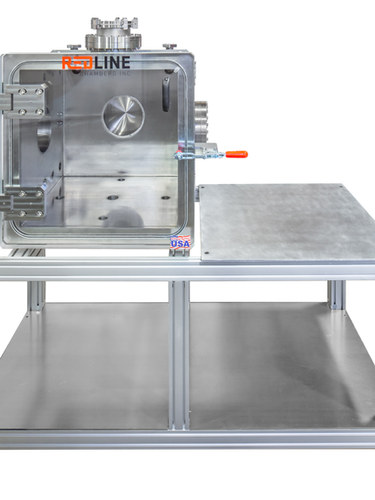 UHV Vacuum Chamber with cart