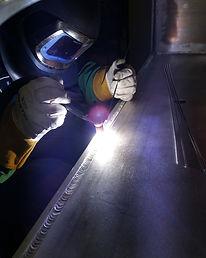 Aluminum Vacuum Chaber Welding