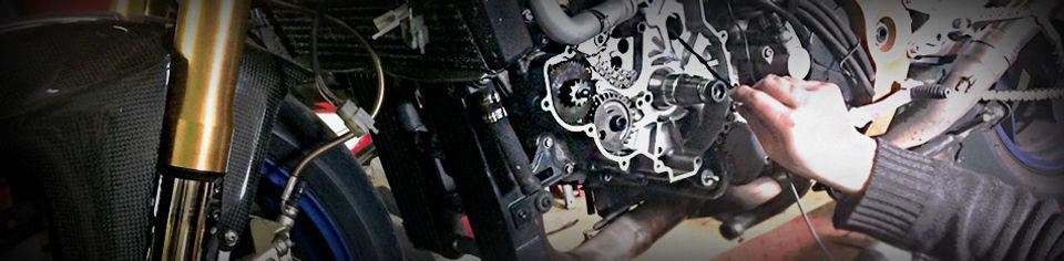 Garage réparation et entretien moto à l'atelier R et N moto à Lavernose Toulouse