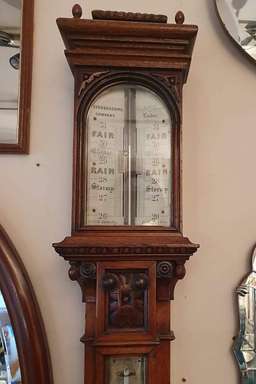 Victorian Stick Barometer by The Stereoscopic Company