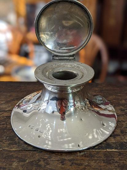 Silver Inkwell Birmingham 1907