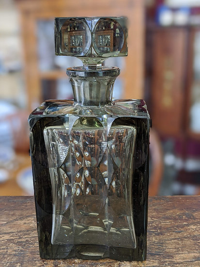 Deco Perfume Bottle (possibly Baccarat)