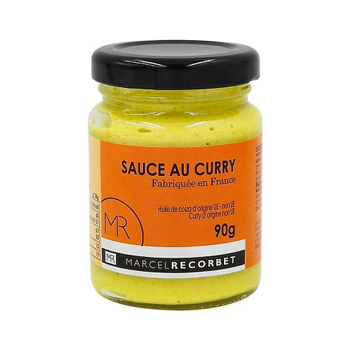 Sauce au curry . bocal 90g Marcel Recorbet