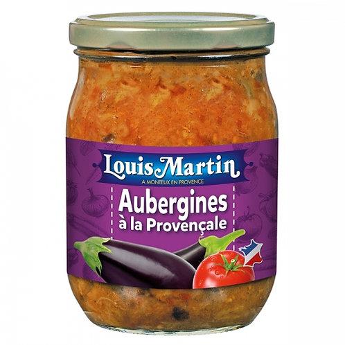 Aubergines à la provençale. bocal 520g