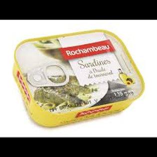 sardine a l huile d'olive