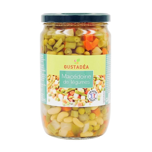 Macédoine de légumes pot 420g Gustadéa