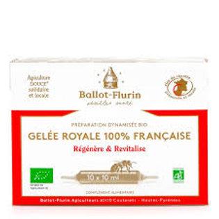 Gelée royale 100% française ampule