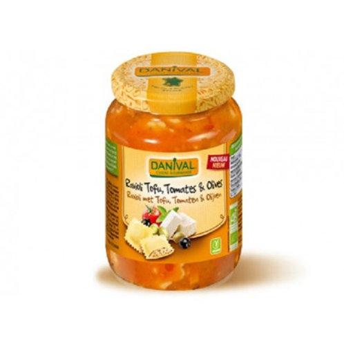 Ravioli tofu tomate olive 670g