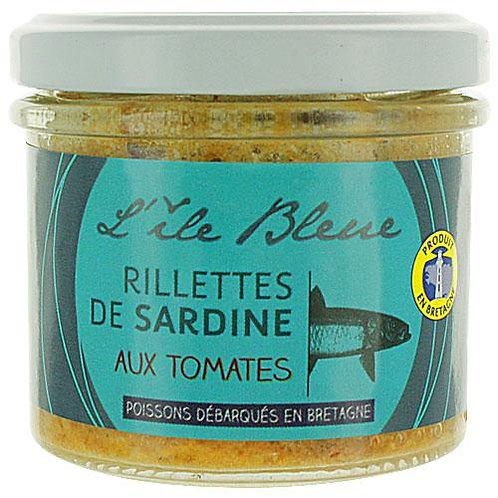 Rillettes de sardine à la tomate. pot 100g