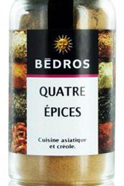 Quatre épices . flacon 45g Bedros