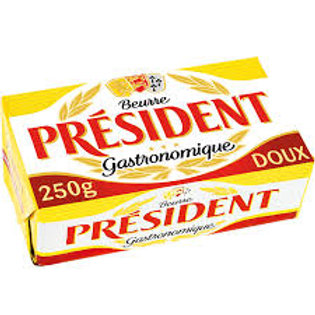 beurre president 250 g