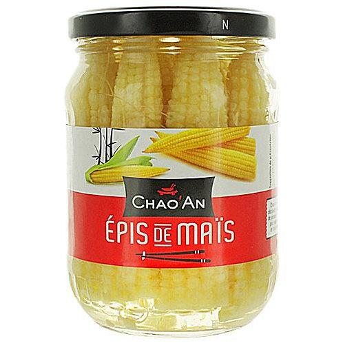 Epis de maïs bocal 190g Chao'an