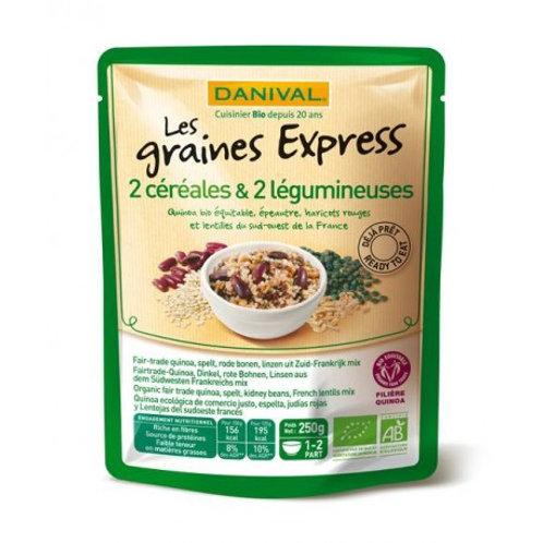 Quinoa lentille épeautre et haricots rouges 250g