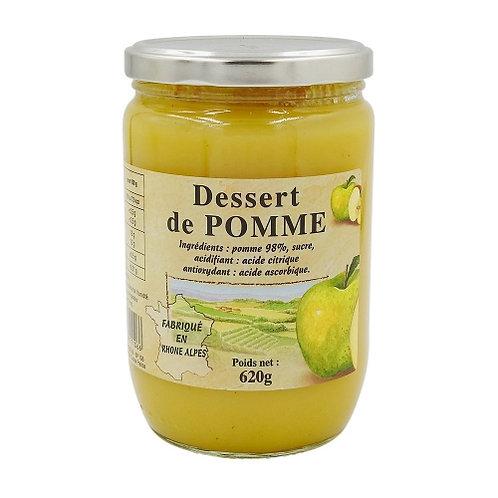 Dessert de pomme Origine France bocal 620g