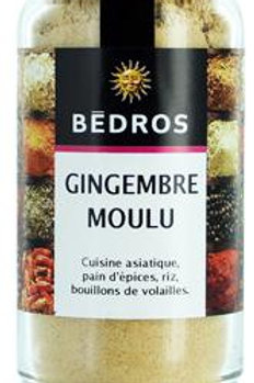 Gingembre moulu . flacon 40g Bedros
