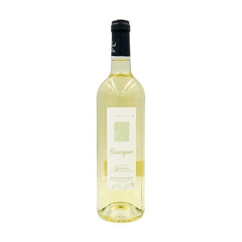 Vin blanc Cévennes Sauvignon IGP. bouteille 75cl