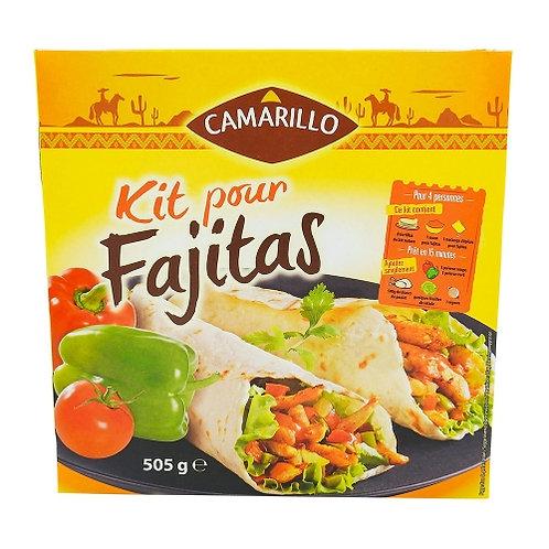 Kit pour fajitas paquet 505g Camarillo