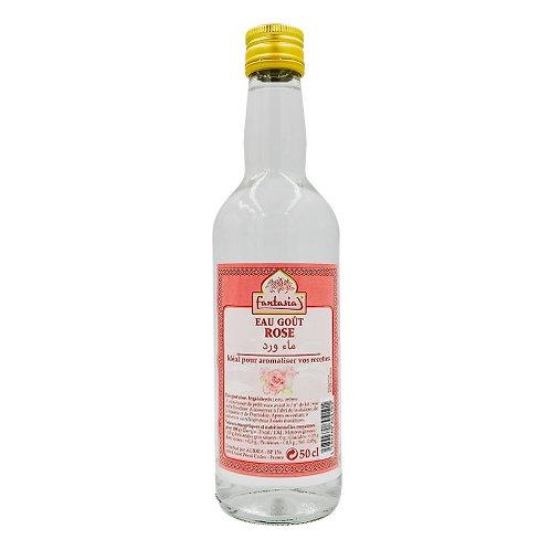 Eau goût rose bouteille 50cl Fantasia