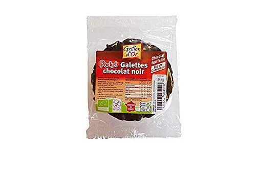 Galette de riz nappe chocolat