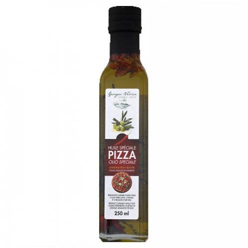 Huile pimentée spécial pizza . bouteille 25cl
