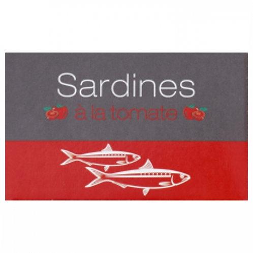 Sardines à la tomate Maroc conserve 125g