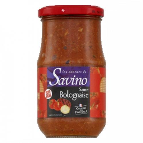 Sauce bolognaise. pot 350g Savino