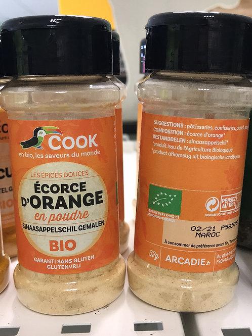 Écorce d'orange en poudre 32g