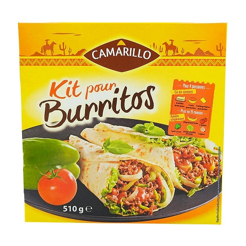 Kit Burritos paquet 510g Camarillo