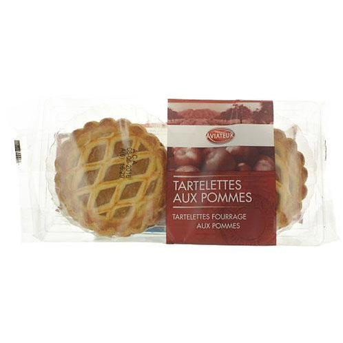 Tartelettes aux pommes. paquet 300g