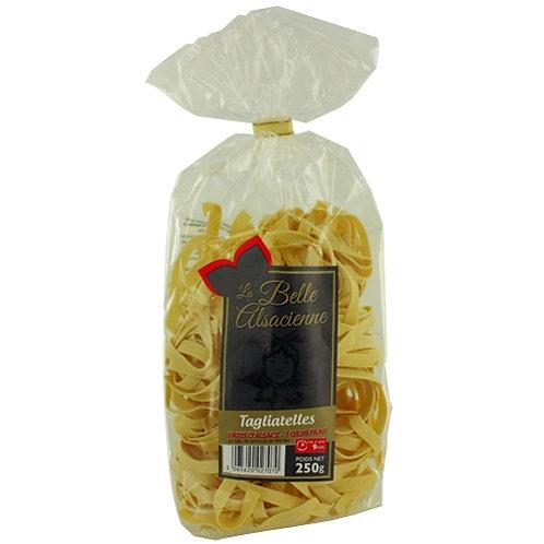 Pâtes aux oeufs Tagliatelles France. paquet 250g
