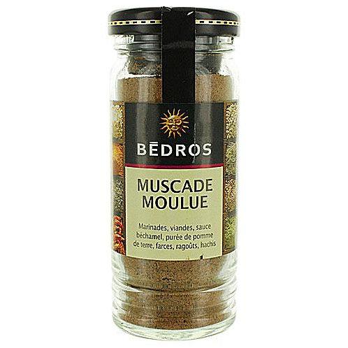 Muscade moulue . flacon 45g Bedros