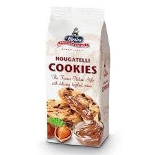 Cookies pépite chocolat fourrage noisette. pqt 200g