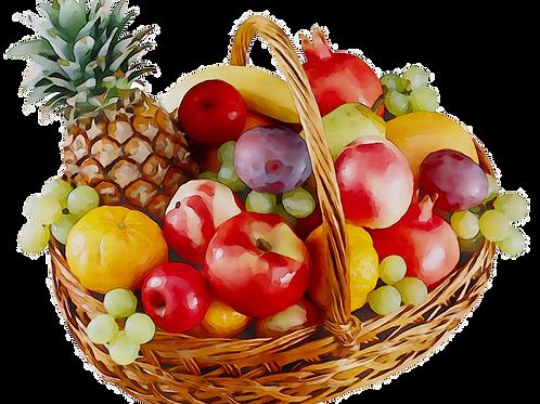 Panier 100% Fruits