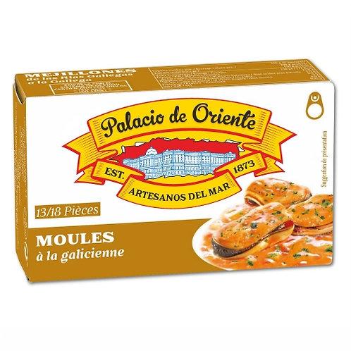 Moules à la galicienne. 115g Palacio de OrienteMoules à la galicienne. 115g Pala