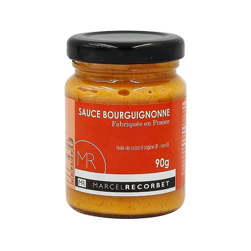 Sauce bourguignonne. bocal 90g Marcel Recorbet